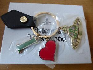 Brand New Vivienne Westwood I Love Orb VW Keyring