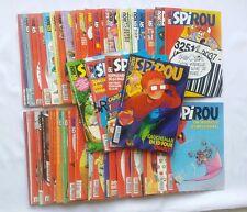 Lot BD - 52 Magazine Revue Spirou n° 3012 à 3063 Année 1996 COMPLET + SUPPLEMENT