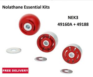 Nolathane NEK3 - 49160A + 49188 Rear Diff Bush Kit FITS BF2 FG FGX Falcon SY SZ