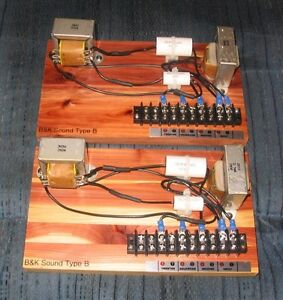 New Replacement Crossover For Klipsch Type B Cornwall Pair