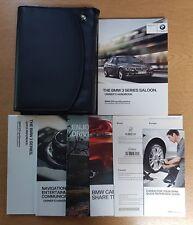BMW 3 SERIES SALOON F30 HANDBOOK NAVI  OWNERS MANUAL 2012-2015 WALLET E-656