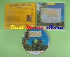 CD ESTATE LATINA VOL 1 compilation PROMO 2003 LATIN SOUND MAMBO BAND JOSè (C19)