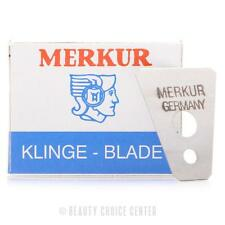Merkur Replacement Blades for Moustache Eyebrow Razor- Pack of 10 Blades