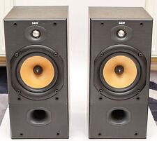 ! NEW Tweeters ! B&W 602 S2 bookshelf loudspeaker Bowers & Wilkins 120W Nautilus
