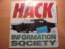 INFORMATION SOCIETY Only Colombia Lp HACK 1990 Different Cover / 17