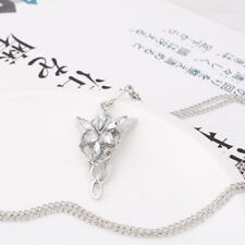 Vintage Lord of the Rings LOTR Fairy Princess Arwen Evenstar Necklace Pendant Ku