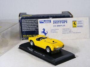 Top Model Colección Tmc 001 Ferrari 375MM 1954 Gialla 1/43 Escala Inbox