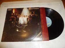 ABBA - Super Trouper - 1980 UK Light Blue Epic Issue 10-track Vinyl LP