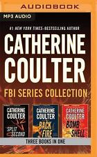 FBI Thriller Books 15-17 by Catherine Coulter MP3 Audiobook Unabridged