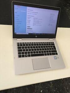 HP Elitebook x360 1030 G2 Intel Core i5-7300 8Gb Ram 180Gb SSD Touch-Pad