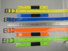 Lot of 4 Garmin DC30 Dog tracking collar..straps orange / yellow / blue / green