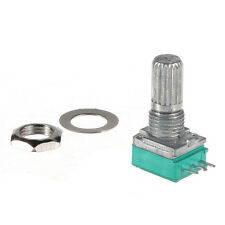 1 K ohm Linear Rotary Pot Potentiometer With Nut & Spacer UK LW