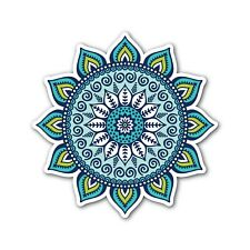 Colourful Mandala sticker No 5 printed to 7 year water & fade proof vinyl