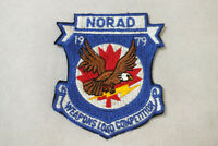 Vintage 1979 NORAD Weapons Load Competition Jacket Patch Sew On