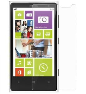 For NOKIA LUMIA 1020 CLEAR CASE + TEMPERED GLASS SCREEN PROTECTOR SHOCKPROOF