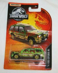 Jurassic World - '93 Ford Explorer (muddy) - Matchbox Diecast