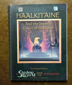 HAALKITAINE AND THE IMPERIAL COURT OF RHAKHAAN - SHADOW WORLD ROLEMASTER RPG ICE