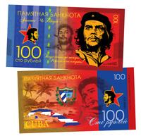 Russia 100 rubles Ernesto Che Guevara Polymeric