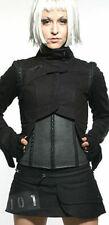 Lip Service Rare Cybertronic Ragdoll Goth Punk Industrial Pocket Mini Skirt XS