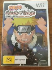 Naruto: Clash of Ninja Revolution (Nintendo Wii, 2007)