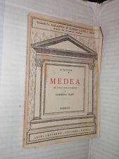 MEDEA Euripide Domenico Bassi Loffredo 1933 classici greci libro manuale corso