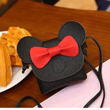 Black Mickey Bag Black Mini Handbag For Kids Child Minnie Birthday Gift Kawaii