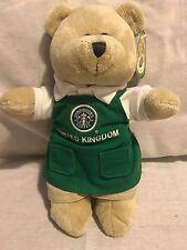 Starbucks 2007 United Kingdom Green Apron Bearista - all tags - RARE