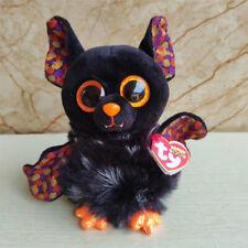 "Ty Beanie Boos 6"" Radar Bat Animal Plush MWMTs Ty Heart Tag"
