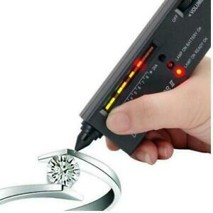 JEWELLERS DIAMOND TESTER 4 GEMS IN SCRAP GOLD SILVER WATCH NECKLACE RING ETC