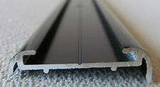 "106"" Pcs. Aluminum Vinyl Insert Type BLACK Flat Trim RV Trailer Boat Motorhome"