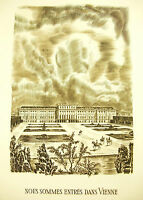 "Napoleon Bonaparte "" in Vienne "" Schoenbrunn Speeches 14 May 1809 Decaris"