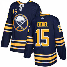 Men's Adidas Buffalo Sabres Authentic Navy Jersey - Jack Eichel size 54 New