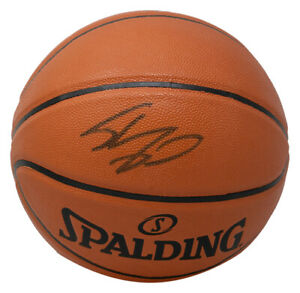 Shaquille O'Neal Signed L.A. Lakers Spalding Replica Basketball JSA ITP