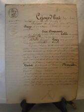 Acte notarié généralité Nancy 1843 levée d'hypothéque
