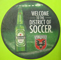 HEINEKEN WELCOME TO THE DISTRICT OF SOCCER Beer COASTER, Mat, NETHERLANDS 2015