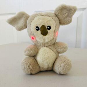 Neopets Talking Interactive Petpet Plushie Harris Koala Toy 2003 Working Plush
