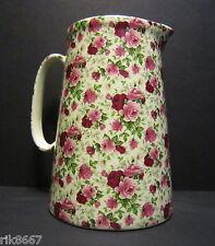 Heron Cross Pottery SUMMERTIME 4 Pint English Milk Jug very big (vase)