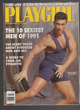 PLAYGIRL 9-91 SEPTEMBER 1991 VAN DAMME COLT's RUSTY LONG HAIR HARRY CONNICK SEAG