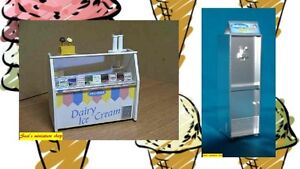1:12 scale dolls house miniature handmade ice cream equipment 2 to choose from.
