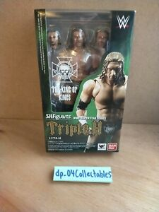 WWE WWF Triple H HHH Superstar Series - Bandai - Wrestling Action Figure - Boxed