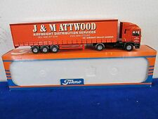 ERF EC Series  J & M Attwood Truck by Tekno 1/50 Scale
