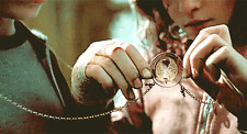 COLLANA CIONDOLO HARRY POTTER GIRATEMPO TIME TURNER HERMIONE DONI DELLA MORTE