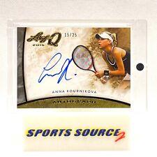 Anna Kournikova 2015 Leaf Q Autograph Card /25 #A-AK1