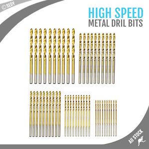 1mm 1.5mm 2mm 2.5mm 3mm Titanium Coated  Steel Metal Drill Bit NOT For  Wood