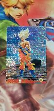 Dragon Ball DragonBall Dbz Laser Card Prism Super Saiyan Goku