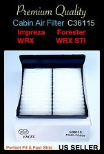Cabin Air filter For Forester Subaru WRX Impreza WRX STI Crosstrek 2009-2017