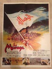cinema-affiche originale- LE MESSAGE - MUSTAPHA AKKAD - ANTHONY QUINN - 60x40