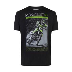 Kawasaki KX450F Motorbike Racing Bike Motorcycle Biker Mens Tee T-shirt