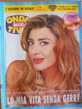 ONDA TV n°16 1995 - Gabriella Carlucci   [G393]