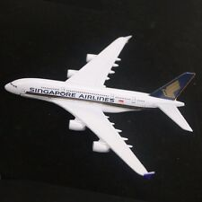 1:400 16CM Metal Singapore Airline A380 Diecast Plane Model Airbus Friend Gifts